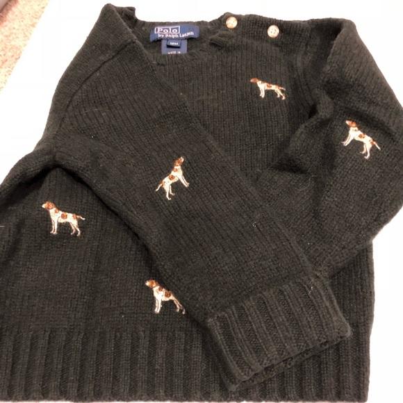 Polo By Ralph Lauren Shirts Tops Polo Ralph Lauren Dog Sweater